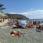 Морское, пляж